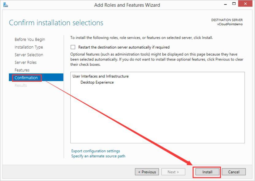 install desktop experience 4