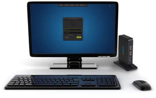 S100 zero client